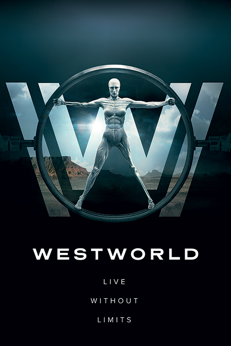 Westworld Maxi Poster - Live Without Limits (814)