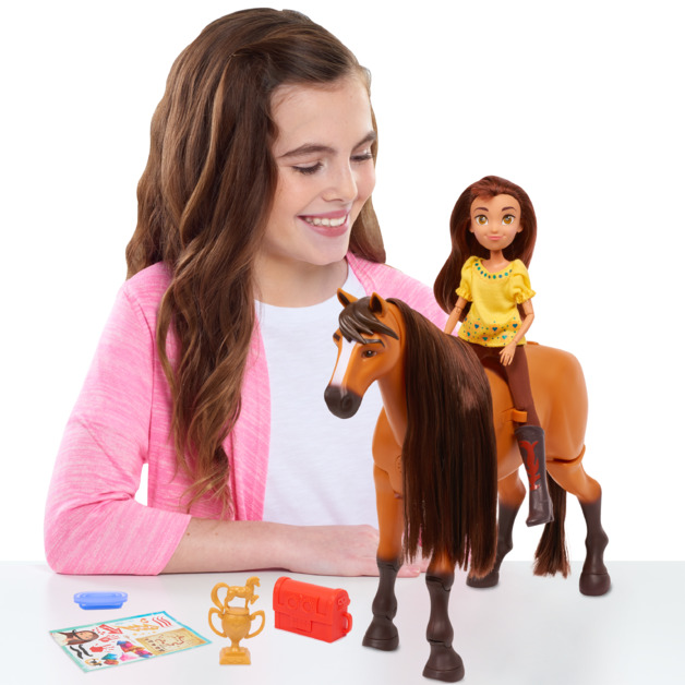 Spirit: Riding Free - Walking Spirit & Lucky Playset