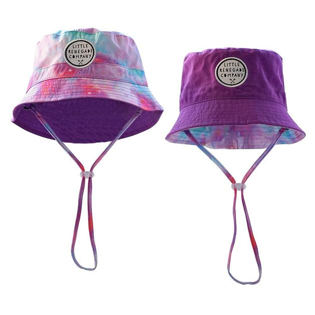 Little Renegade Company: Cotton Candy Reversible Bucket Hat - Maxi