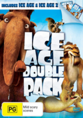 Ice Age Double Pack (2 Disc Set) on DVD