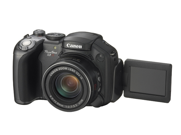 Canon Digital Camera Powershot S3 IS 6.0MP