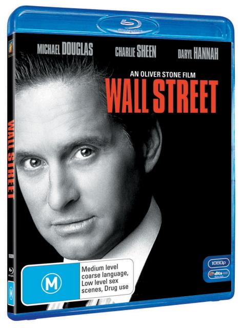 Wall Street on Blu-ray
