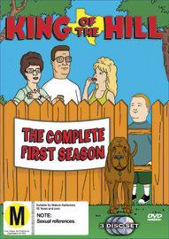 King of the Hill - Complete Season 1 (3 Disc) on DVD image