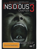 Insidious: Chapter 3 DVD