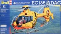 Revell: 1/72 EC135 Trauma Helicopter - Model Kit