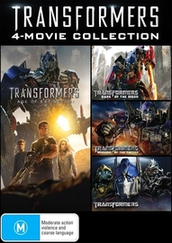 Transformers 1-4 Movie Box Set on DVD image