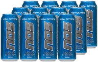 NOS Energy Drink High Octane 500ml 12pk