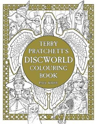 Terry Pratchett's Discworld Colouring Book by Paul Kidby