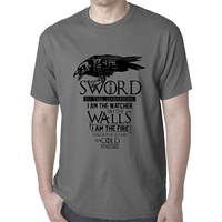 Game Of Thrones Nights Watch Tee - X-Large