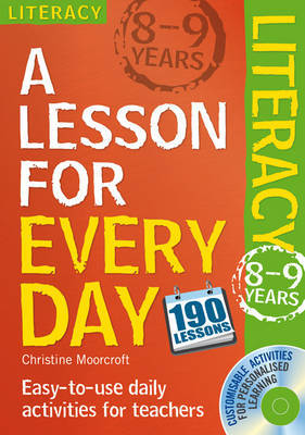 Literacy Ages 8-9 by Christine Moorcroft image
