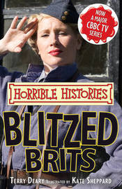 The Blitzed Brits by Terry Deary image