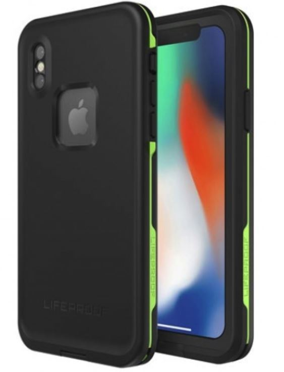 LifeProof Fre Case for iPhone X - Black Lime