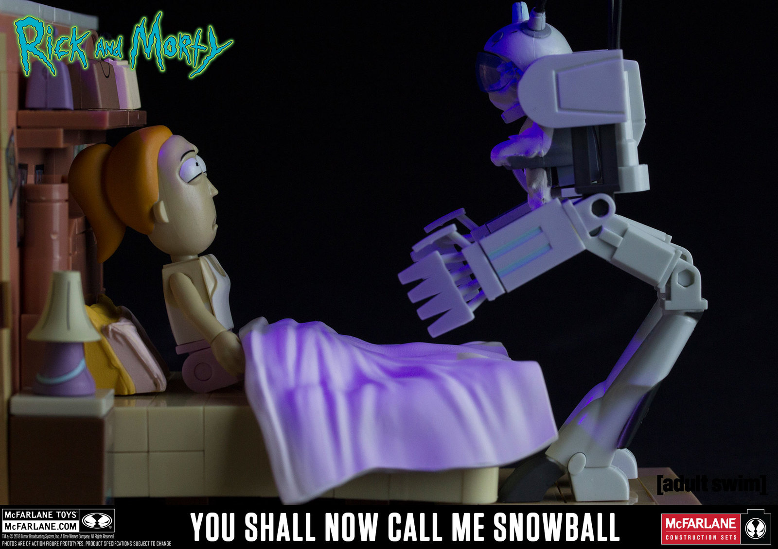 Rick and Morty: You Shall Now Call Me Snowball - Medium Construction Set image
