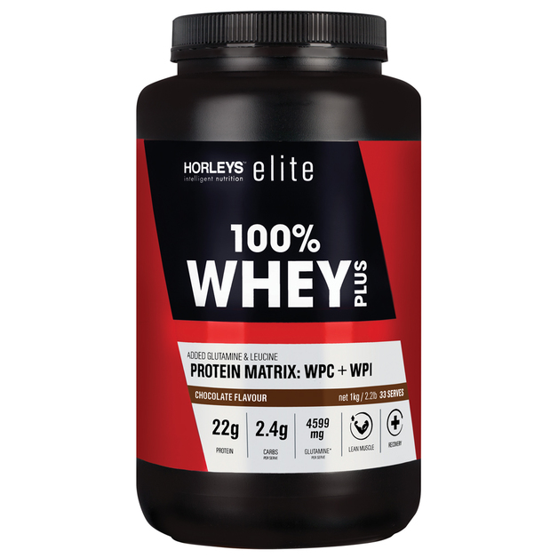 Horleys 100% Whey Plus - Chocolate (1kg)