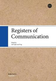 Registers of Communication by Asif Agha image