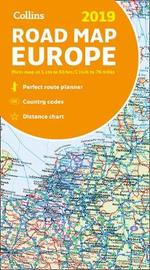 2019 Collins Map of Europe by Collins Maps