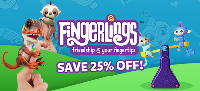 25% off Fingerlings!