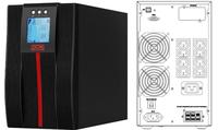 Powercom: Macan Comfort 2000VA/2000W On Line UPS Mini Tower