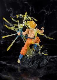 "Dragon Ball Z: Super Saiyan Goku (Burning Battles) - 8"" Figuarts-Zero Figure image"