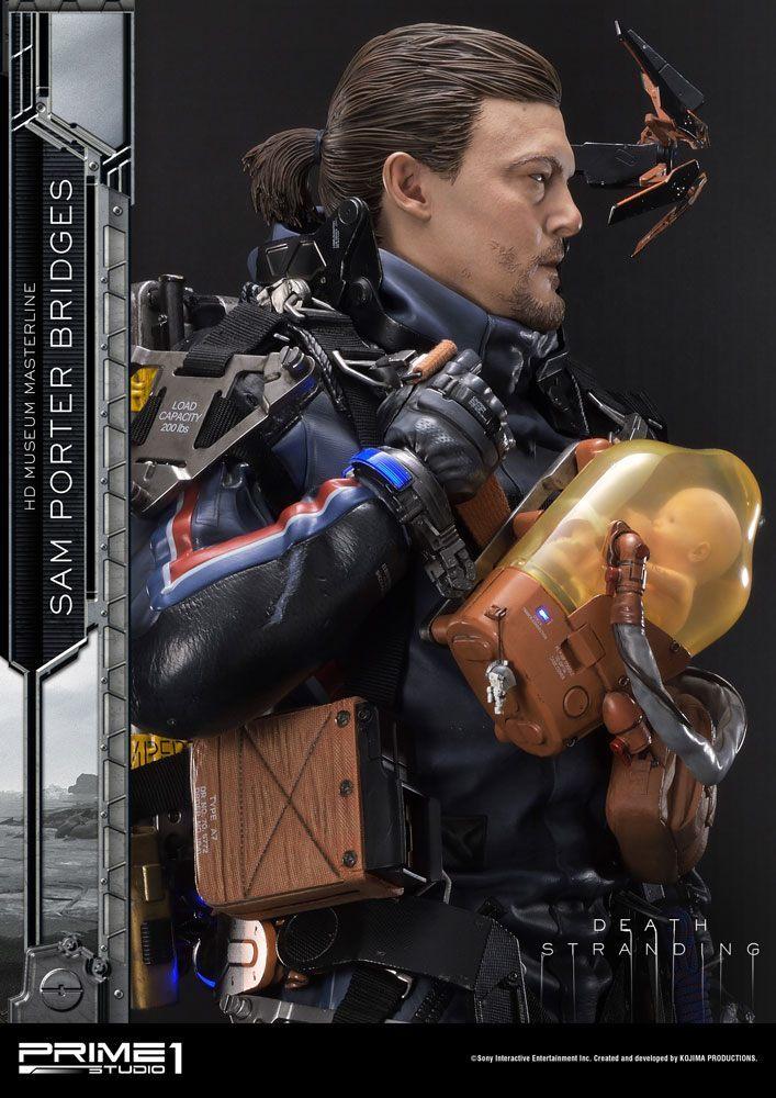 """Death Stranding: 1/2 Sam Porter Bridges - 42"""" Premium Statue image"""