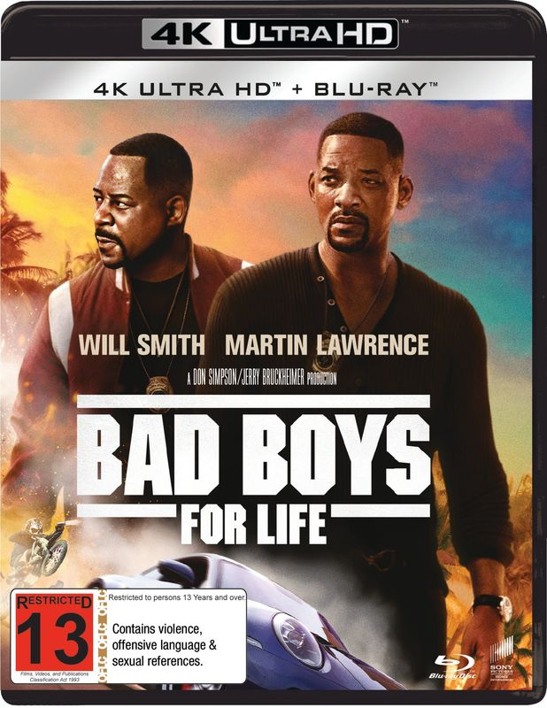 Bad Boys for Life (4K Ultra HD Blu-ray) on UHD Blu-ray