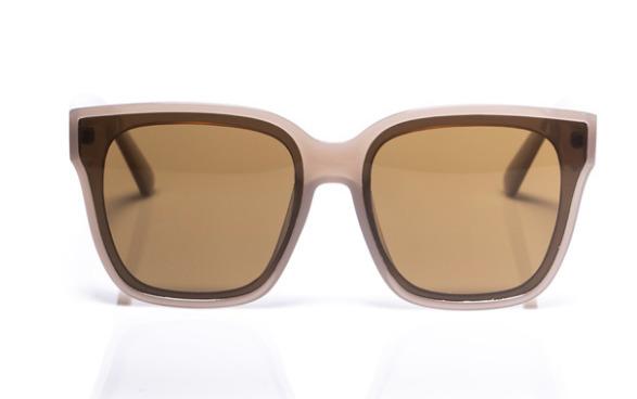 Electric Pukeko: Polarised Sunglasses - Transparent Champagne