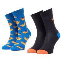 Happy Socks: 2-Pack Hot Dog Socks Gift Set 36-40