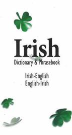 Irish-English / English-Irish Dictionary & Phrasebook image