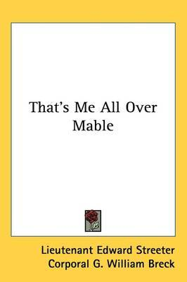 That's Me All Over Mable by Lieutenant Edward Streeter image