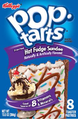 Kellogg's Hot Fudge Sundae Pop Tarts image