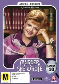 Murder, She Wrote: Season 10 on DVD