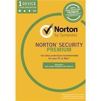 Norton Security Premium for One Device - 1 Year License