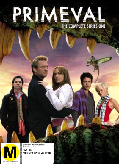 Primeval - The Complete Series 1 on DVD image