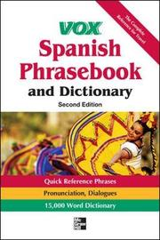 Vox Spanish Phrasebook and Dictionary by Vox