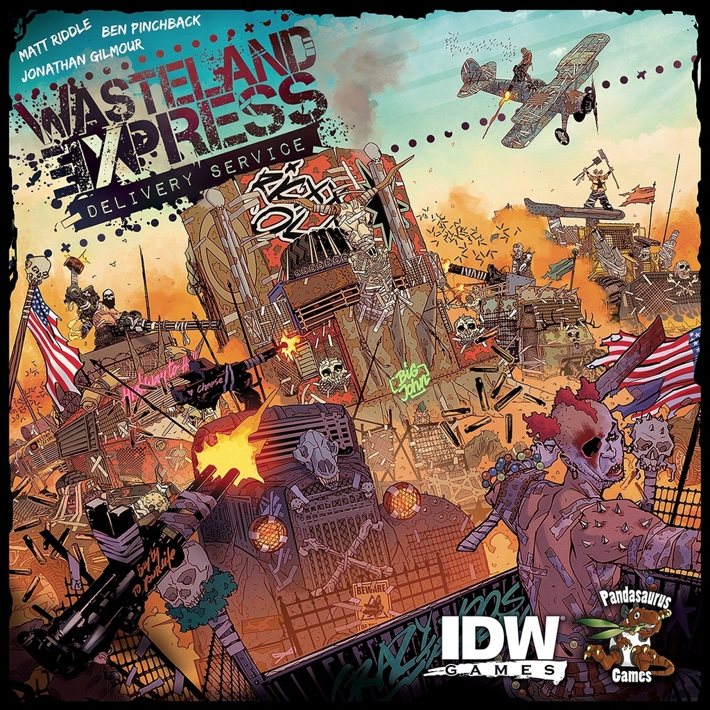 Wasteland Express Delivery Service - Board Game image