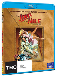 The Jewel of The Nile on Blu-ray