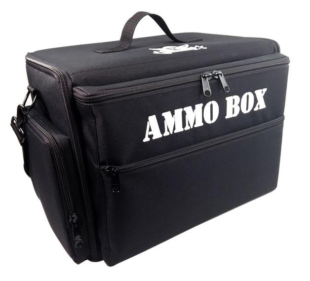 Battle Foam: Ammo Box Bag - Standard Load Out for 15-20mm Models (Black)