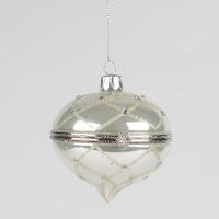 Silver Diamond Trinket Bauble