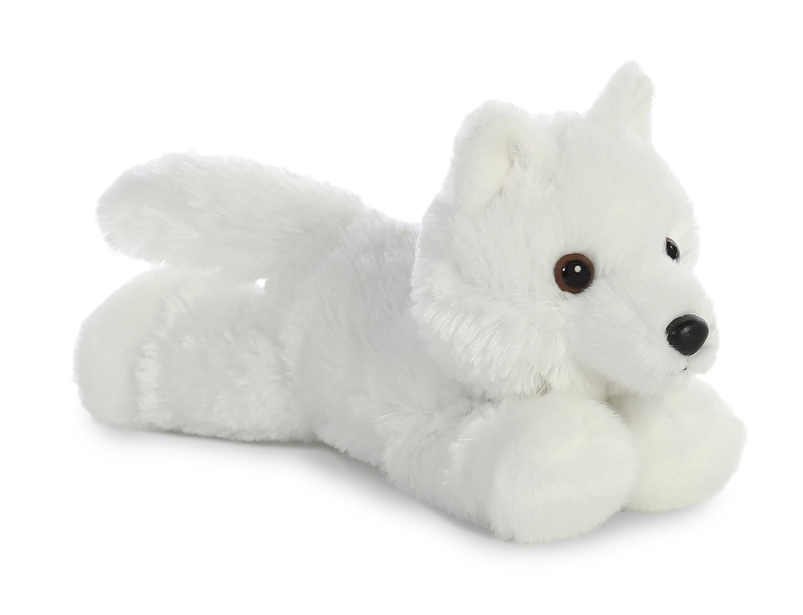 Aurora: Mini Flopsies - White Wolf image