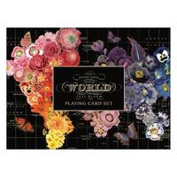 Galison: Playing Cards - Wendy Gold Full Bloom image
