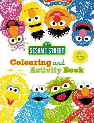 Sesame Street: Colouring and Activity Book image