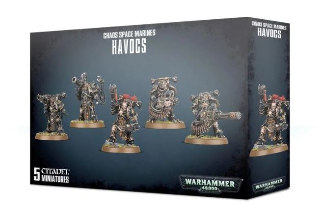 Warhammer 40,000: Chaos Space Marines - Havocs