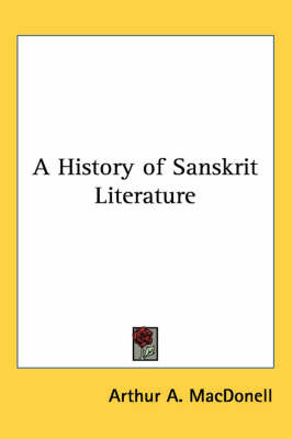 A History of Sanskrit Literature by Arthur Anthony MacDonell image