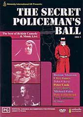 The Secret Policeman's Ball on DVD
