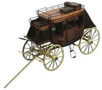 Artesania Latina Stage Coach 1848 'Heritage' 1:10 Wooden Model Kit