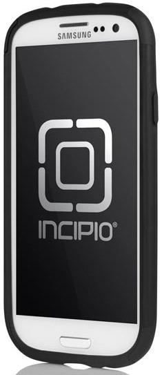 Incipio Samsung Galaxy S III Silicrylic DualPro Hard Shell Case with Silicone Core - Black & Black
