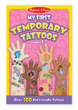 Melissa & Doug: My First Temporary Tattoos Pink