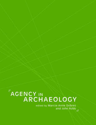 Agency in Archaeology by Marcia-Anne Dobres image