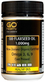 Go Healthy: GO Flaxseed Oil 1000mg (90 Capsules)
