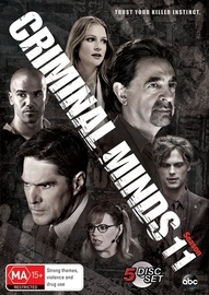 Criminal Minds: Season 11 (5 Disc Set) on DVD